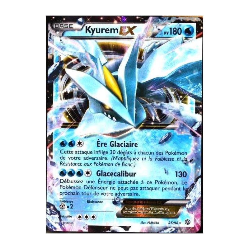 Carte pok mon rare kyurem ex holo full art pv 180 25 98 - Carte de pokemon a imprimer ...