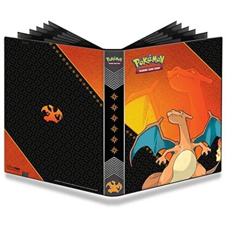 Grand cahier range carte pokémon Pro Binder 20 pages DRACAUFEU Ultra Pro