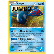 Carte grande taille JUMBO Kyogre 130 pv - XY51
