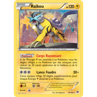Raikou pv 120 Holo - 55/162 Impulsion turbo