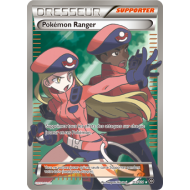 "Carte Dresseur ""Supporter"" Full Art - Pokémon Ranger - 113/114 Offensive Vapeur Xy11"