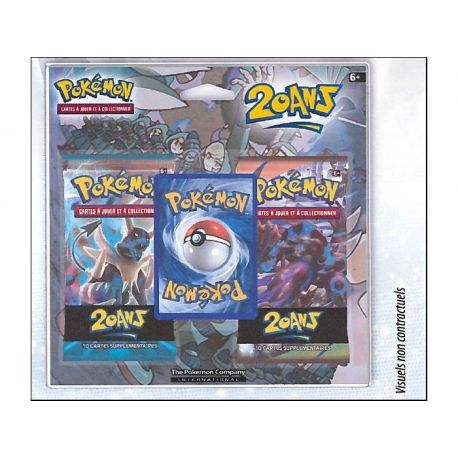 Duopack Collection Générations Série 4 Pokémon Fabuleux