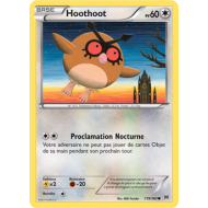 Hoothoot Pv 60 Carte Commune - 119/162 - XY08