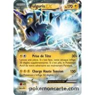 Fulguris Ex 170 pv 26/108 extension pokémon XY 06 Ciel rugissant FULL ART
