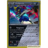Scalproie Carte Double Energie Holo Rare 100 Pv - XY11 - 64/114