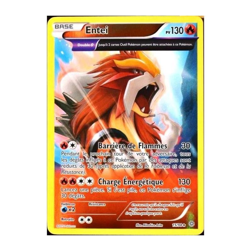 Carte pok mon reverse full art rare entei pv 130 15 98 - Carte pokemon gratuite ...