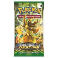 Lot de 4 Boosters pokémon  XY10 Impact des Destins