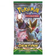 Lot de 10 booster XY 10 Impact des destins c'est 100 cartes pokémon