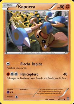 Ceinture Force Reverse XY3:Poings Furieux-91//111-Carte Pokemon Neuve Française