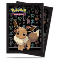65 Proteges Cartes EVOLI / EEVEE Ultra Pro Pokémon