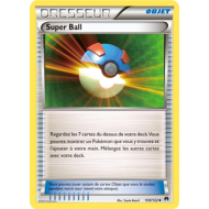 Super Ball Carte Peu Commune - 100/122 - XY9