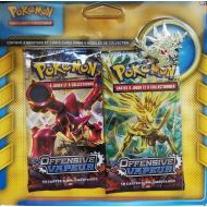 Pack 2 Boosters Offensive Vapeur + 1 Pin's Tyranocif
