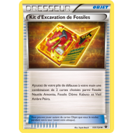 Kit d'Excavation de Fossiles Carte Peu Commune - 101/124 - XY10