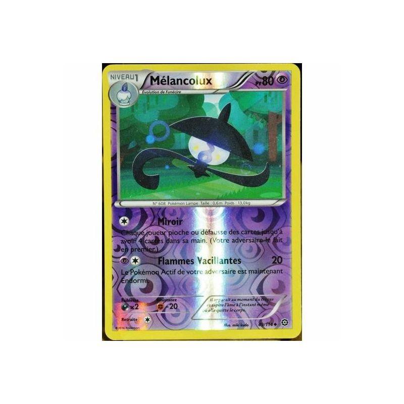 Mélancolux XY11:Offensive Vapeur 49//114 Carte Pokemon Neuve Française