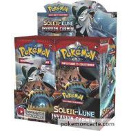 Display Pokemon Booster Soleil et Lune 4 Invasion Carmin de 36 Boosters SL4