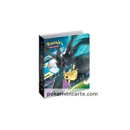 Mini Album Portfolio de Poche SL9 pour 60 Emplacements de cartes Pokémon + 1 booster DUO DE CHOC