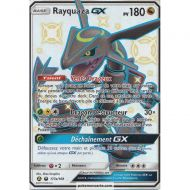 Carte Jumbo Rayquaza gx pv 180 177a/168 Chromatique Full Art