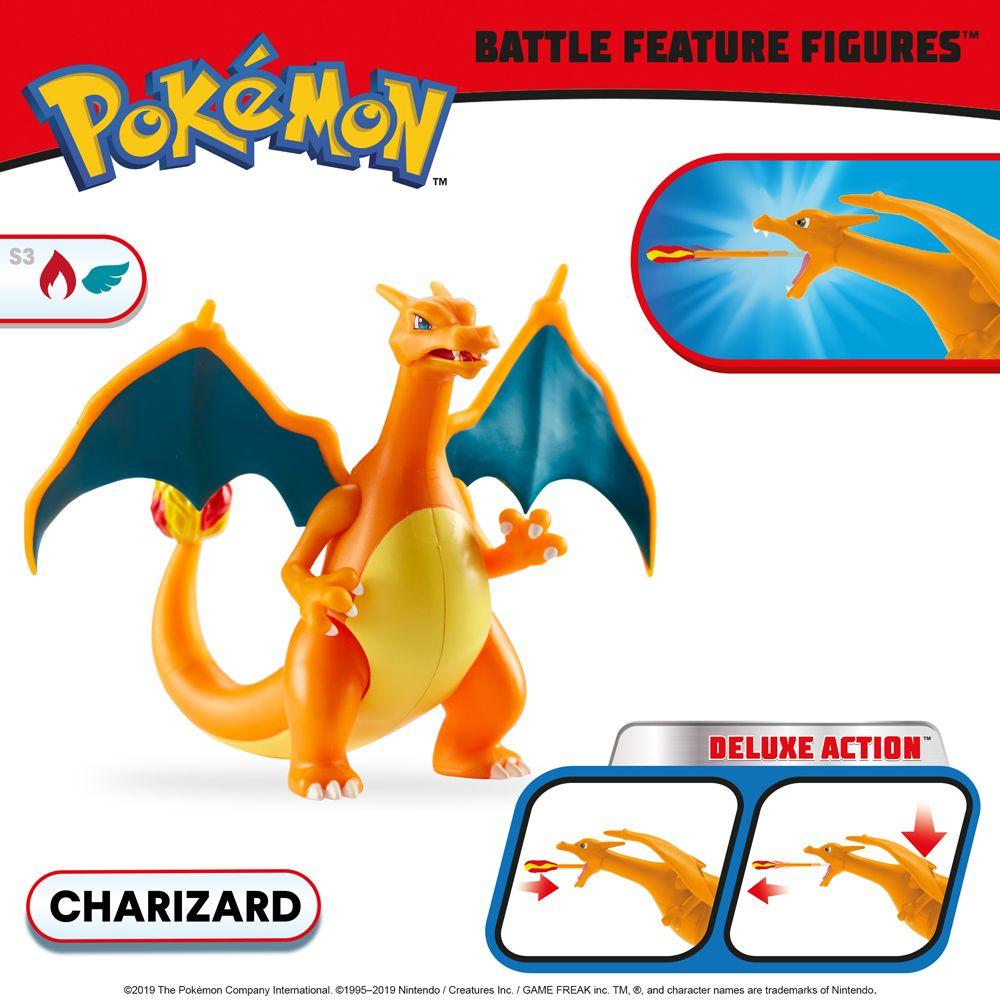 Figurine Pokémon Dracaufeu Action Deluxe