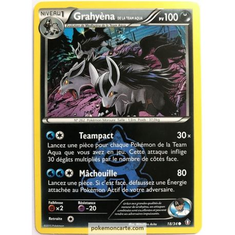 Grahyèna Pv 100 Double Danger 18/34 Carte Commune Neuve VF