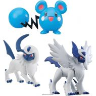Pack de 3 Figurine Pokémon Méga Absol - Azurill - Absol