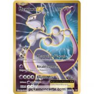 Carte Pokémon Mewtwo Ex Full Art 103/108 ultra rare