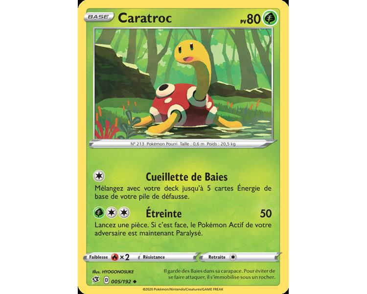 Insécateur Pv 80 4/192 - Carte Commune - Epée et Bouclier - Clash des rebelles