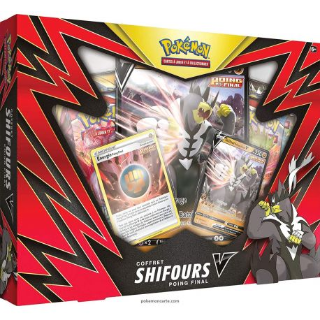 Coffret 4 Boosters - Shifours-V Poing Final - EB05 -Styles de Combat